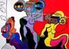 Pierre FRANCOIS (1935-2007) - Les femmes transistors