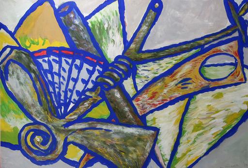 Adrian WISZNIEWSKI - Painting - Plant Form