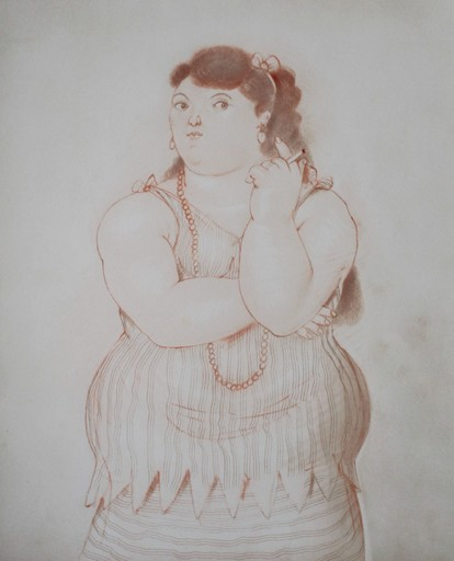 Fernando BOTERO - Estampe-Multiple - Dessins et Aquarelles (2)