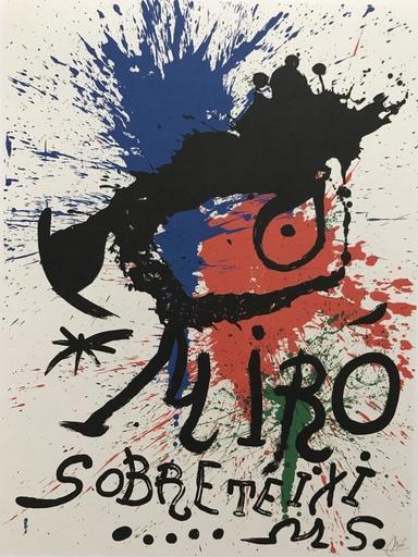 胡安·米罗 - 版画 - M920 Affiche Pour L'Exposition Sobreteixims
