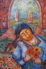Katherine MULLER - Painting - Angelita de Salisco