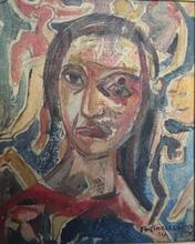 René PORTOCARRERO - Pintura - Woman