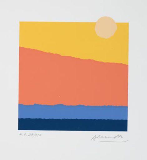 Arthur SECUNDA - Print-Multiple - Landschaft abstrakt (Landscape abstract)