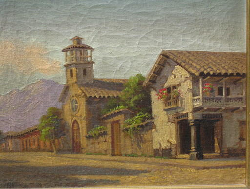 Alberto LOBOS - Pintura