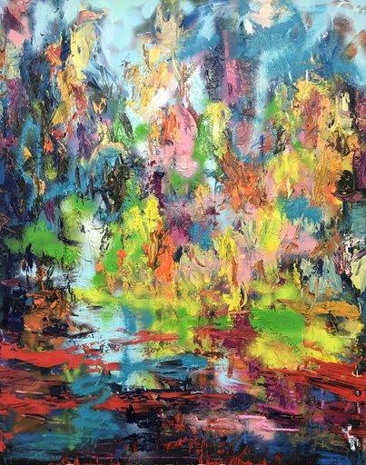 Nicole LEIDENFROST - Gemälde - Freie Gedanken