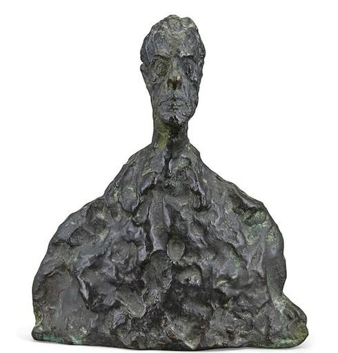 Alberto GIACOMETTI - Sculpture-Volume - Petit Buste (Sold)