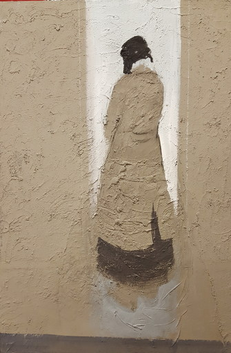Angelo BORDIGA - Peinture - Senza titolo