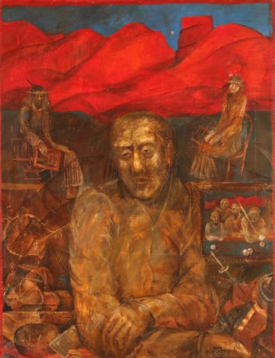Vasily KAFANOV - Painting - The Collector