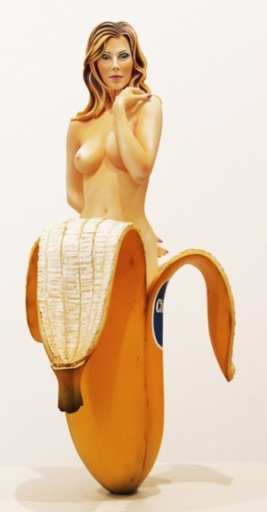 Mel RAMOS - Sculpture-Volume - Chiquita Banana