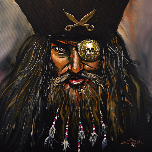 Rémi BERTOCHE - Painting - Prate Face