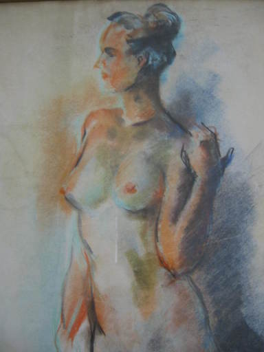 Thelma PADDOCK - Drawing-Watercolor