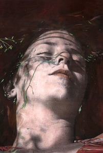 Ayline OLUKMAN - Painting - Shadows 1