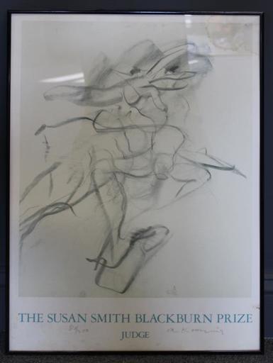 Willem DE KOONING - Stampa Multiplo - Blackburn Prize
