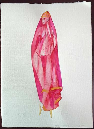 Aïdan SALAKHOVA - Dibujo Acuarela - Maiden's Tower