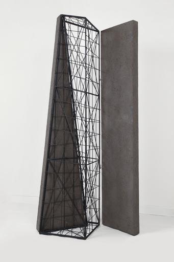 Giuseppe UNCINI - Sculpture-Volume - Spazi di ferro n° 12