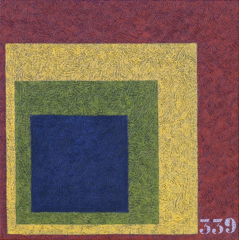 Yves CLERC - Painting - N°339