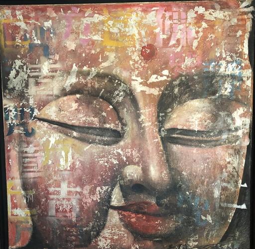MA Tse-Lin - Painting - Buddha (41/2001)