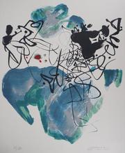 CHU Teh-Chun - Stampa Multiplo - Blue Composition