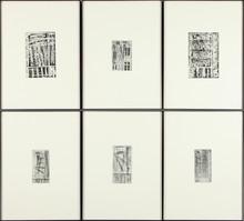 昆特•福格 - 版画 - Fenster