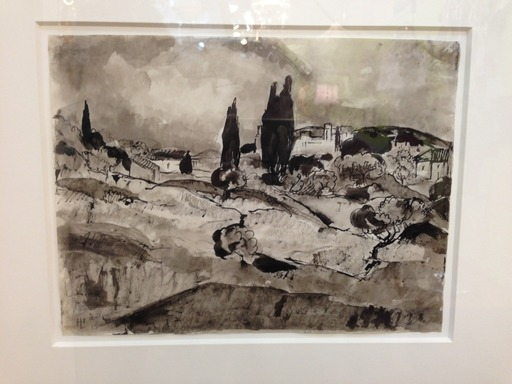 Hermann LISMANN - Zeichnung Aquarell - St Remy