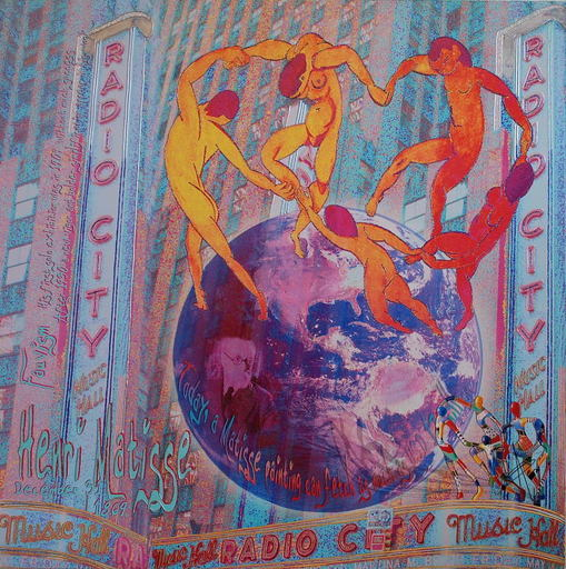Alan BERG - Print-Multiple - Dance Around The World