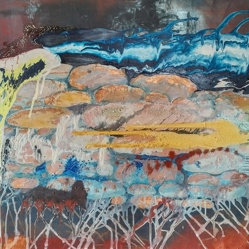Ewa WITKOWSKA - Painting - Penetration