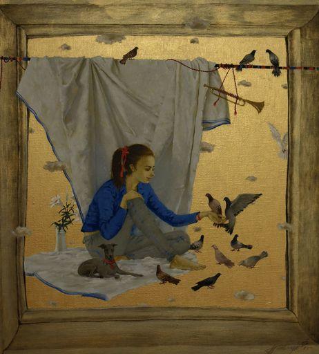 Tatjana PALCUKA - Painting - Maria I    (Cat N° 6086)