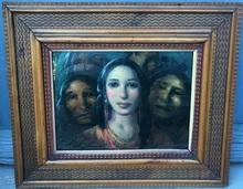Daniel SABATER Y SALABERT - Painting - El orgullo de la familia