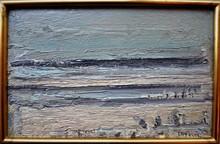 André COTTAVOZ - Painting - marée basse
