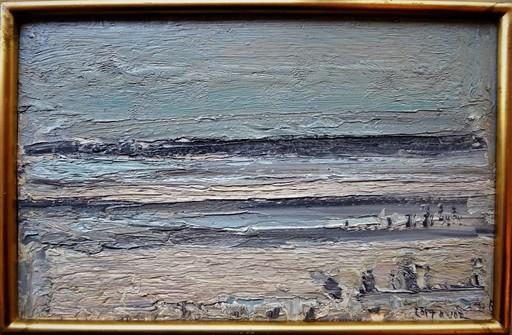 André COTTAVOZ - Peinture - marée basse