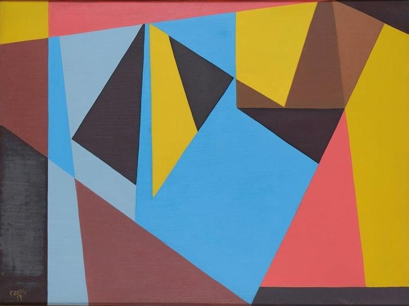 Otto RITSCHL - Gemälde - Komposition 57/4