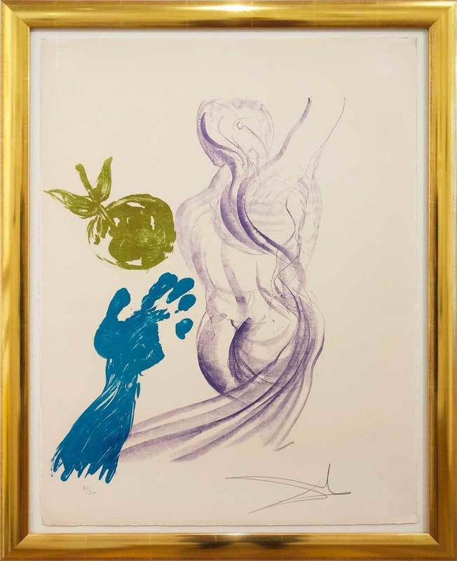 Salvador DALI - Print-Multiple - Estades de la Vida - Reife
