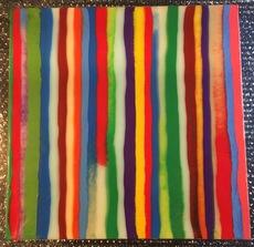 Davide NIDO - Pintura - Striped