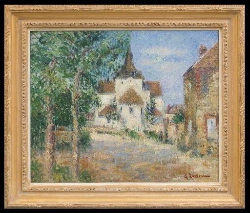 Gustave LOISEAU - Pintura - Eglise Notre-Dame du Vaudreuil