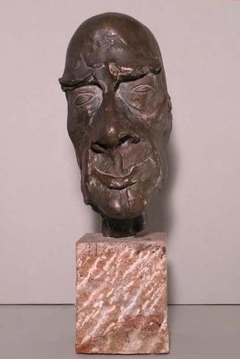 Carlo MATTIOLI - Sculpture-Volume - PORTRAIT OF ORESTE MACRÌ
