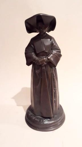 Emmanuel FRÉMIET - Skulptur Volumen - Soeur de la charité