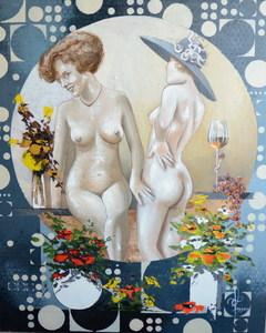 François LASSERE - Gemälde - Nude