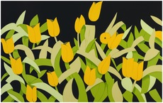 Alex KATZ - Stampa Multiplo - Yellow Tulips