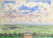 Pierre BONNARD - Pintura - Terrasse et balcon