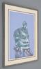 Fernando LUIS - Pittura - Fernando Luis Dominguez Abstract Figural Painting