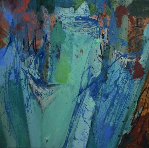 Peny MANAVI - Gemälde - Cactus 19