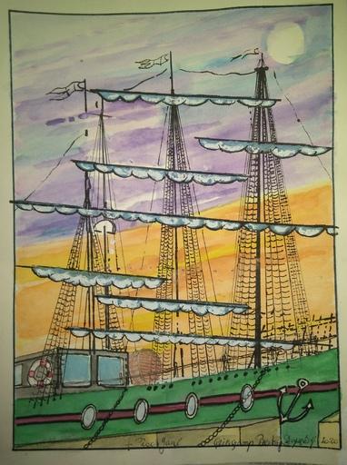 Gérard DUPIRÉ - Drawing-Watercolor - Navigation
