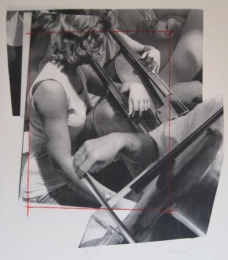 Gérard SCHLOSSER - Druckgrafik-Multiple - LITHOGRAPHIE SIGNÉE CRAYON NUM/100 HANDSIGNED LITHOGRAPH