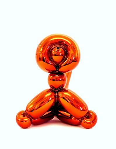 Jeff KOONS - Sculpture-Volume - Balloon Monkey Orange