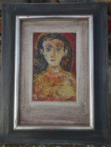 Felipe ORLANDO - Painting - portrait de femme