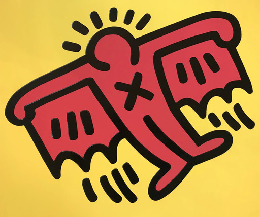 Keith HARING - Estampe-Multiple - Untitled (X Man)