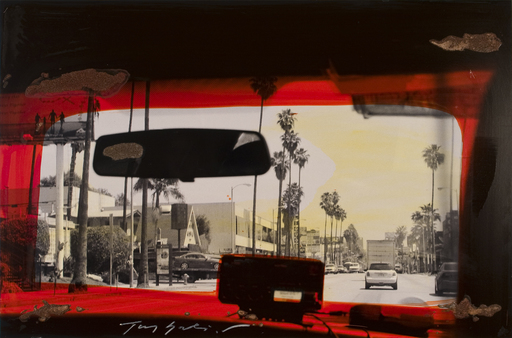 Tony SOULIÉ - 绘画 - Untitled - Los Angeles