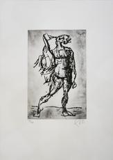 Markus LÜPERTZ - Print-Multiple - Leda (schwarz)