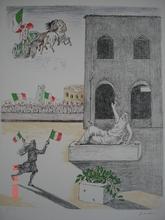 Giorgio DE CHIRICO - Grabado - l'Italia del Centenario