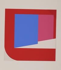 Georg Karl PFAHLER - Grabado - Abstrakte Komposition